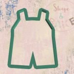 Dungaree cookie cutter