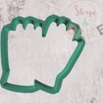 Gardening gloves cookie cutter