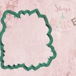 Large Floral cookie cutter
