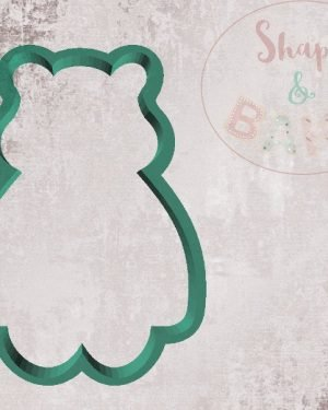 Sat pudsey bear cookie cutter