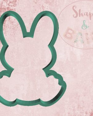 Sat bunny cookie cutter
