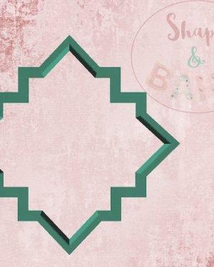 Islamic pattern cookie cutter