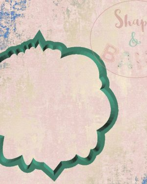 Eid mubarak in arabic text cookie cutter