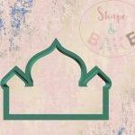 Mosque cookie cutter