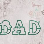 DAD cookie cutters (set of 3)