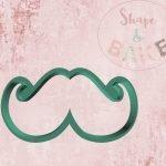 Moustache cookie cutter