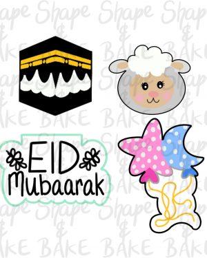 4 piece mini eid set