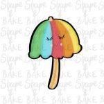 Parasol cookie cutter