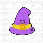 Witches hat cookie cutter