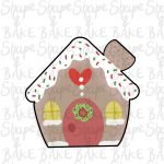Gingerbread house cookie cutter