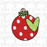 Bauble with a heart cookie cutter