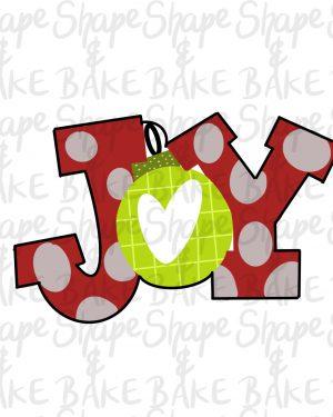 Joy cookie cutter
