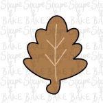Leaf cookie cutter