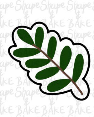 Leaf 1 cookie cutter