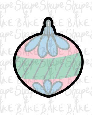 Ornament 3 cookie cutter
