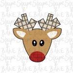 Boy reindeer cookie cutter