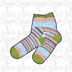 Socks cookie cutter