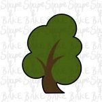 Tree 2 cookie cutter