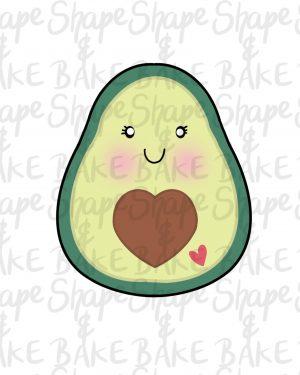Avocado Cookie cutter