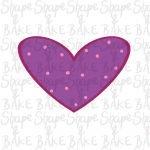 Heart 4 cookie cutter