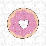Heart Donut cookie cutter
