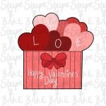 Heart Gift Box cookie cutter