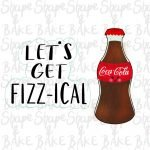 Let's Get Fizz-ical cookie cutter set (2 cutters)