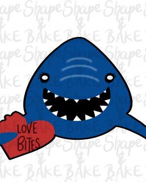 Love Bites cookie cutter