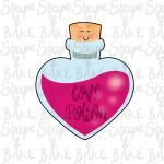 Love potion bottle cookie cutter