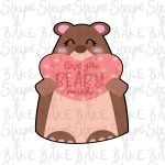 Love you Beary much cookie cutter