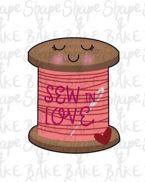 Sew in love cookie cutter