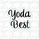 Yoda Best cookie cutter