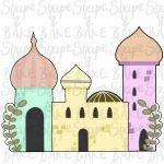 3 Piece mosque set cookie cutters (3 cutters)