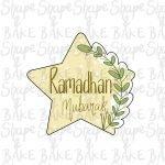 Leafy star cookie cutter