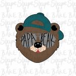 Papa bear 2021 cookie cutter