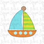 Sailing boat cookie cutter