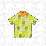 Summer shirt cookie cutter