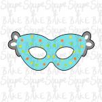 Super Hero mask cookie cutter