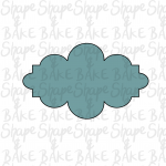 Plaque I cookie cutter