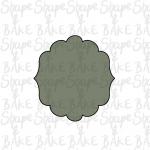 Plaque J cookie cutter