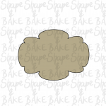 Plaque N Cookie Cutter