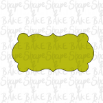 Plaque T cookie cutter
