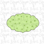 Plaque Y cookie cutter