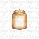 Candle cookie cutter