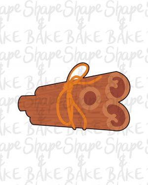 Cinnamon sticks cookie cutter