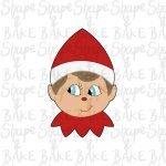 Elf face cookie cutter