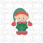 Full boy elf cookie cutter