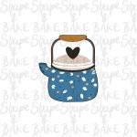 Handle teapot cookie cutter