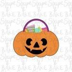 Pumpkin bag cookie cutter