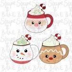 Christmas mug cookie cutter